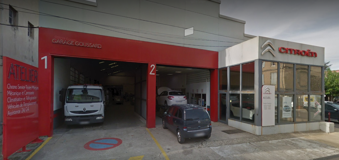 Vente agence Citroën à Bourg Saint Andéol